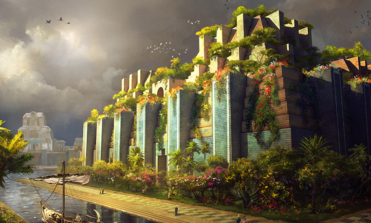 Finished hanging gardens of babylon.jpg
